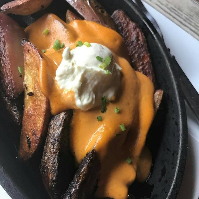 Everydays the perfect day for our classic Cheesy Fingerling Potatoeshellip