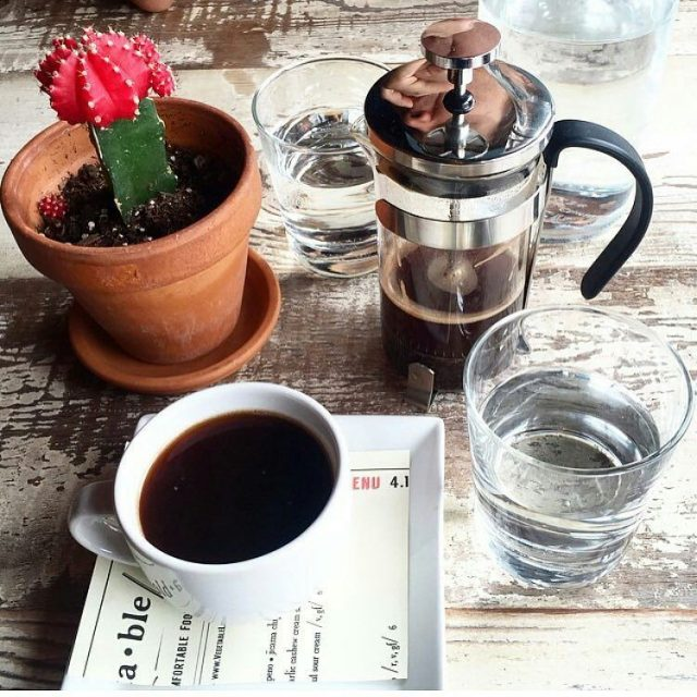 Perfect day for some Organic Intelligentsia Coffee in single servehellip