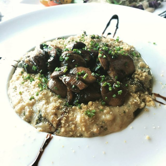 Wild Mushroom Risotto served daily come and get it! hellip