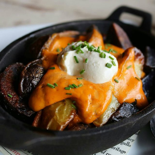 Our classic cheesy Fingerling Potatoes! Always in season Always delicious!hellip