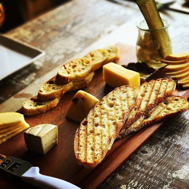 regram from 2girls1bite  One of the best cheese boardshellip